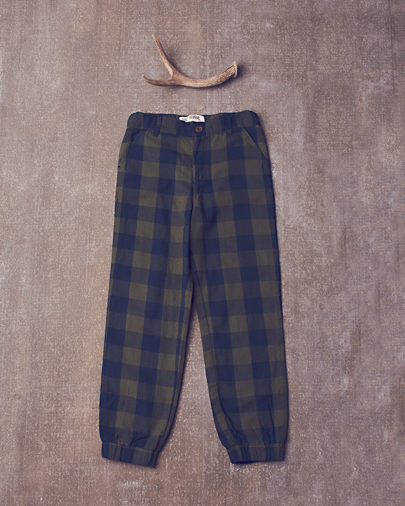 Gwen Pant in Navy Olive