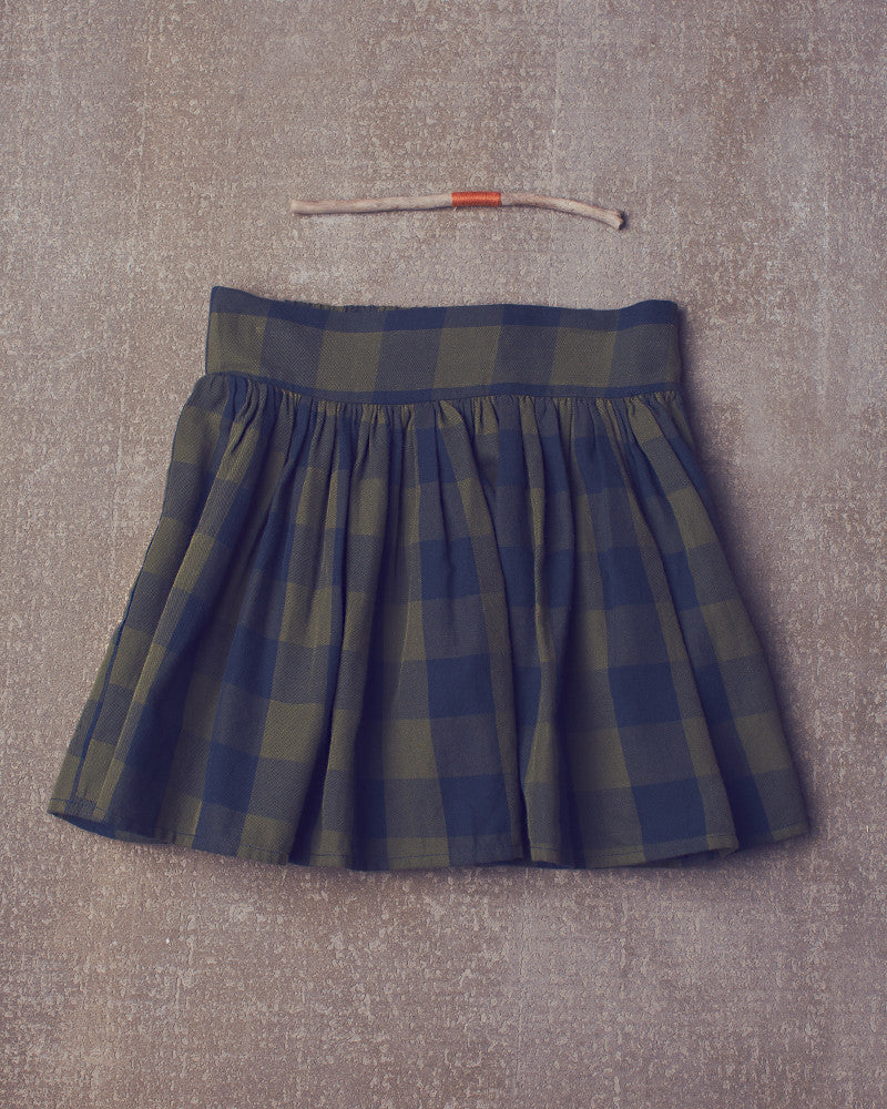 Prima Donna Skirt in Navy Olive