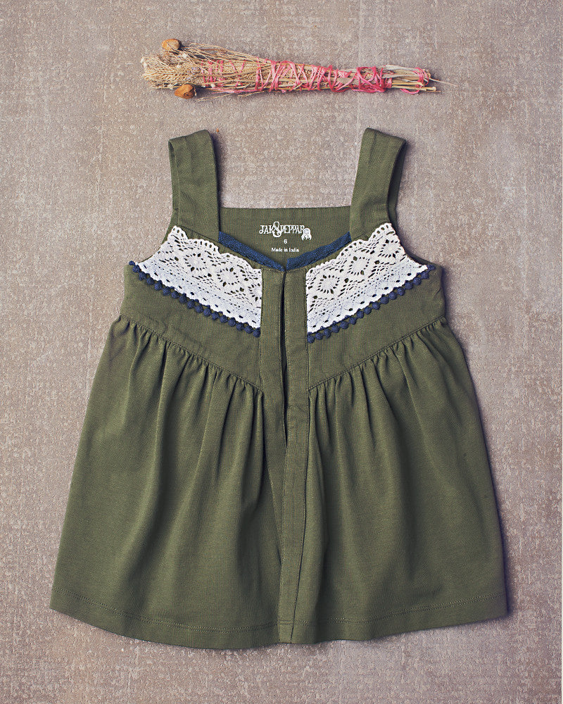 Ina Top in Olive