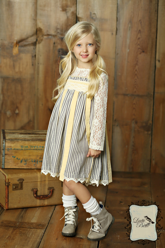 Charleston Dress in Butter