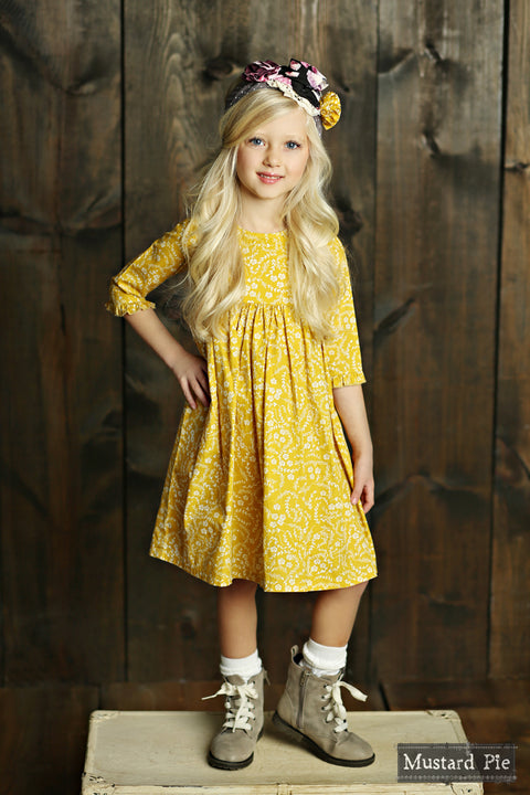 Pepper Dress in Golden