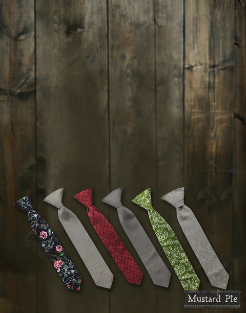 Boys Necktie in Tea