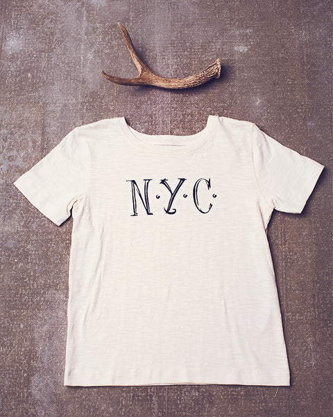 Wagner tee in Cream