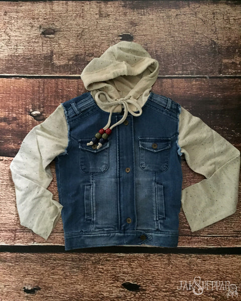 Hickman Jacket in Jean