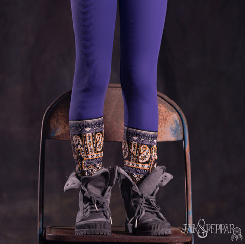 Laney Leggings in Electric Purple