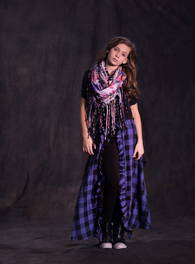 Earth Wind and Fire Maxi in Electric Purple