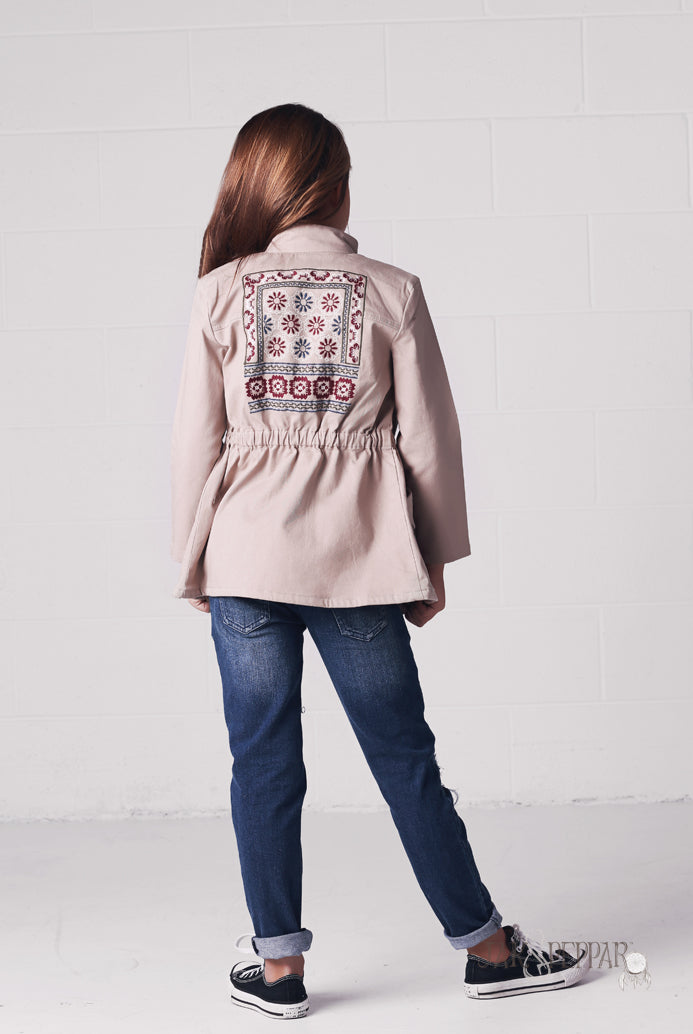 Jamboree Jacket in Stone