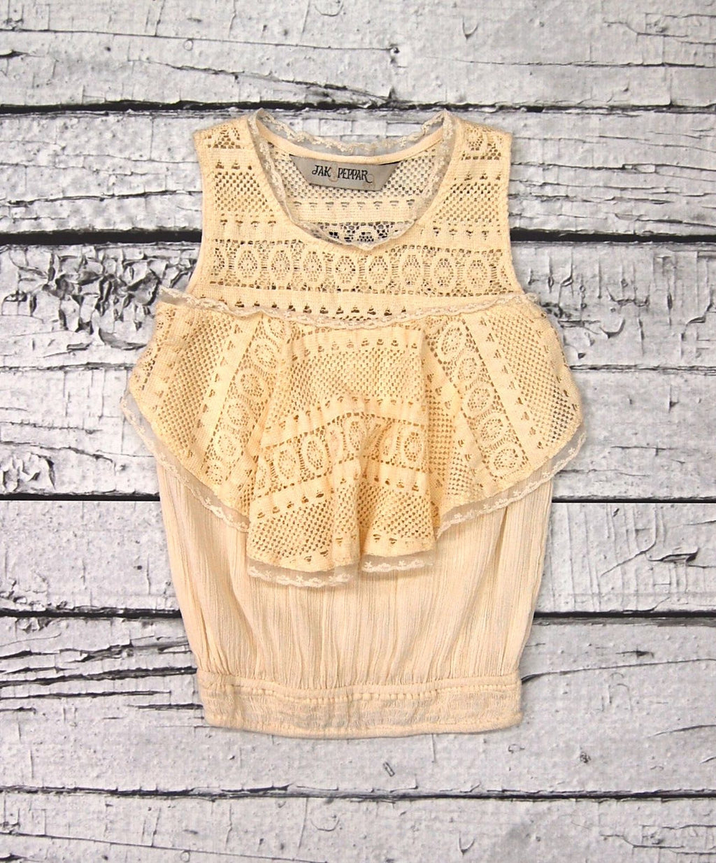 Summer Days Tank in Vanilla Motif