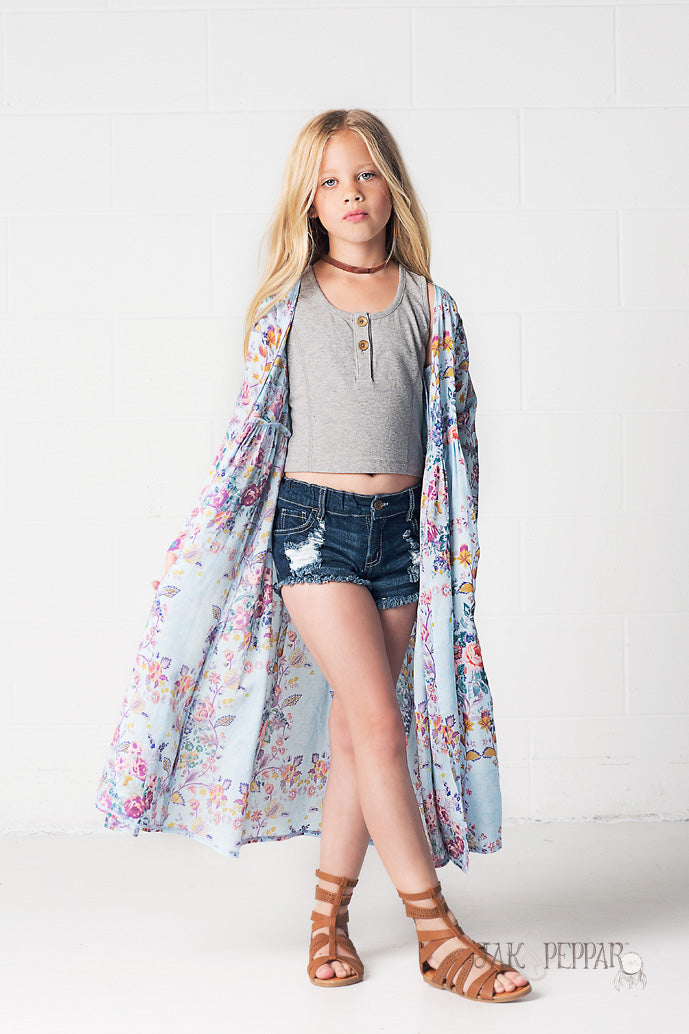Gypsy Gene Maxi Jacket in Indian Summer