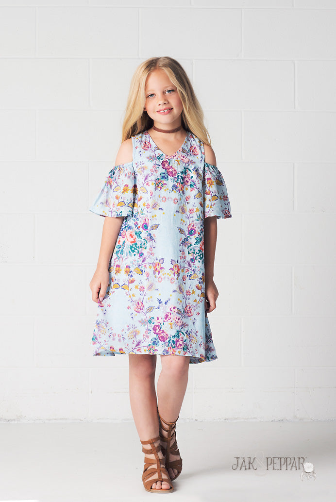 Cecily Dress in Indian Summer