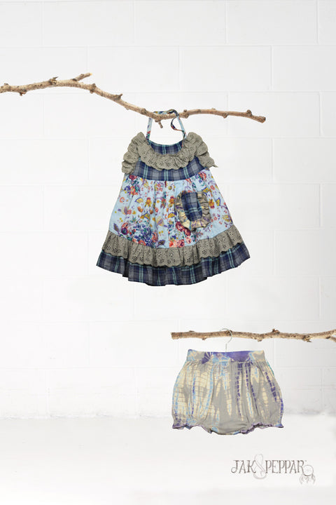 Penelope Dress Set in Indian Summer