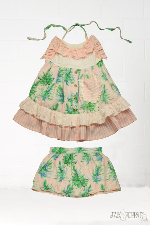 Penelope Dress in Palmetto Island