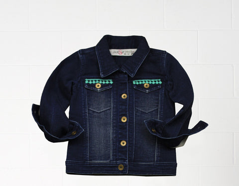 Hinkley Toddler Jacket in Medium Wash