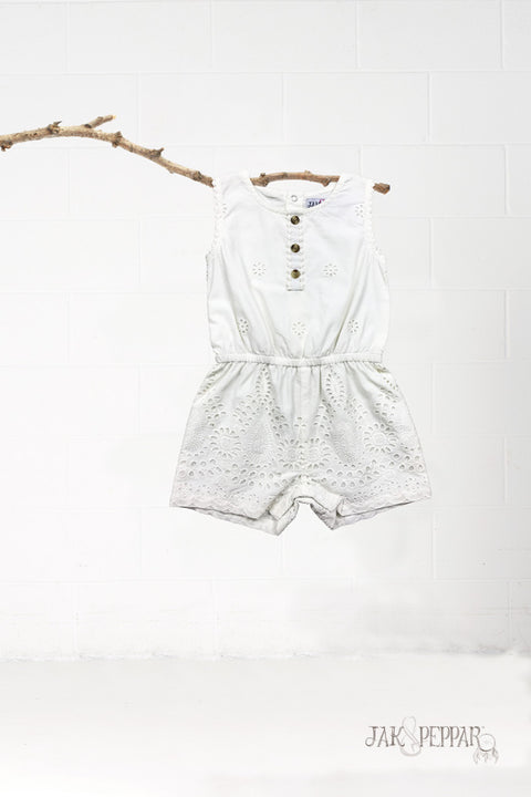 Ramona Romper in Water Lily