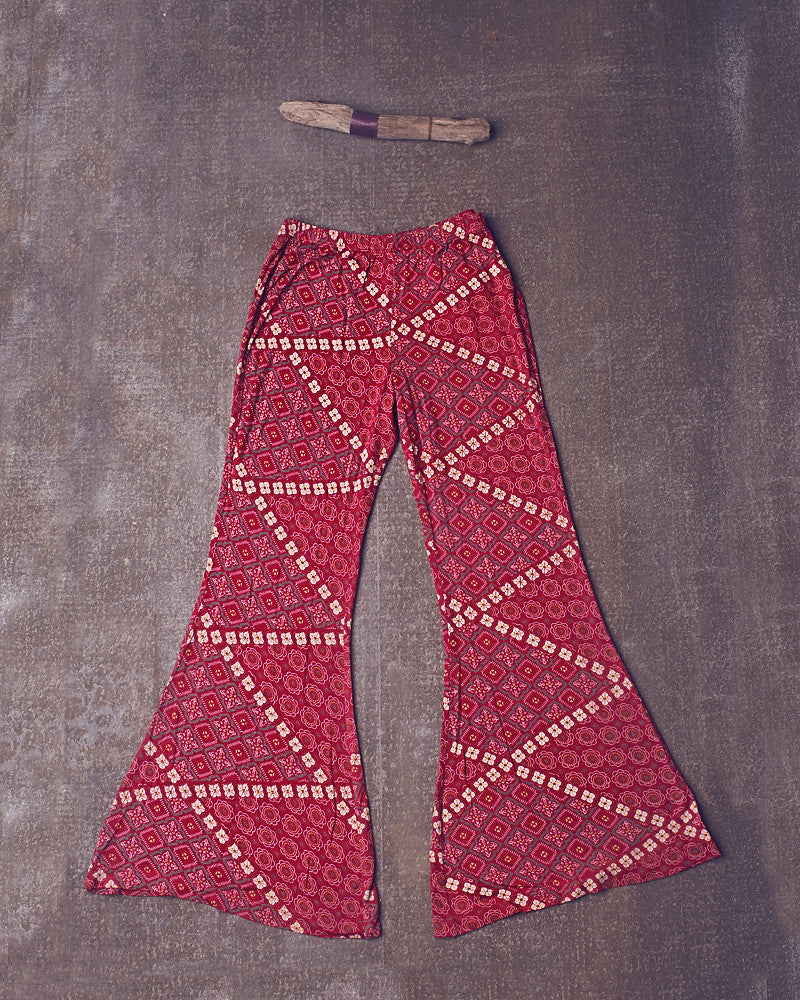 Chella Pant in Berry