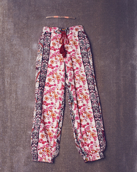 Pixie Harem Pant in Stoneberry