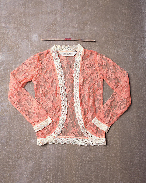 Lacey Days Jacket in Tangerine