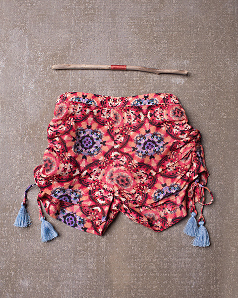 Pick Up and Go Shorts in Tangerine