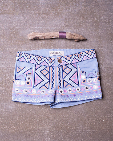 Urban Jungle Short in Spa Blue