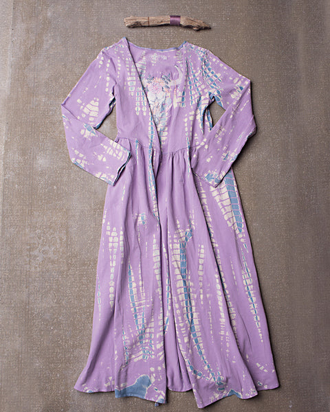 Gypsy Gene Maxi Jacket in Dazed Lavender