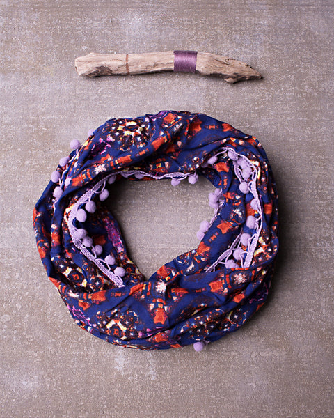 Like The Wind Scarf in Orchid