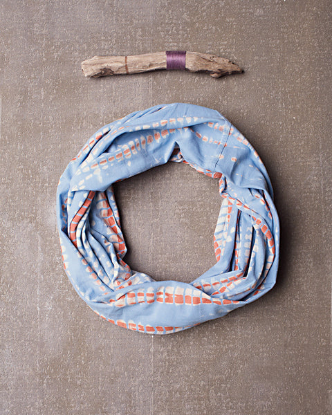 Jak Infinity Scarf in Dazed Spa Blue