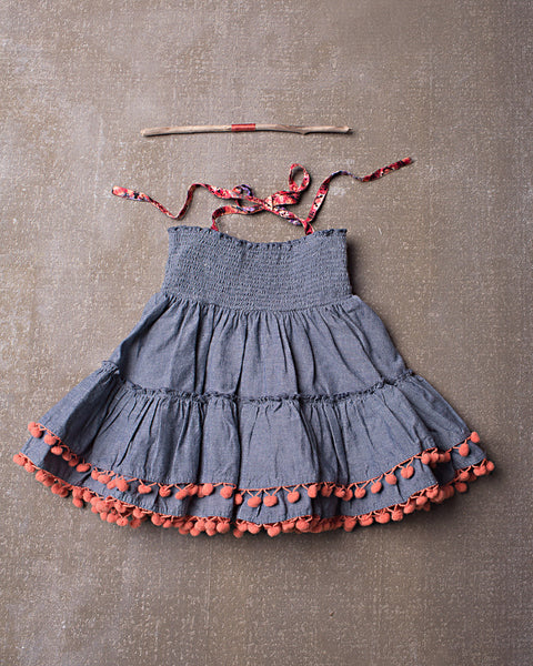 Laney Skirt/Top in Chambray