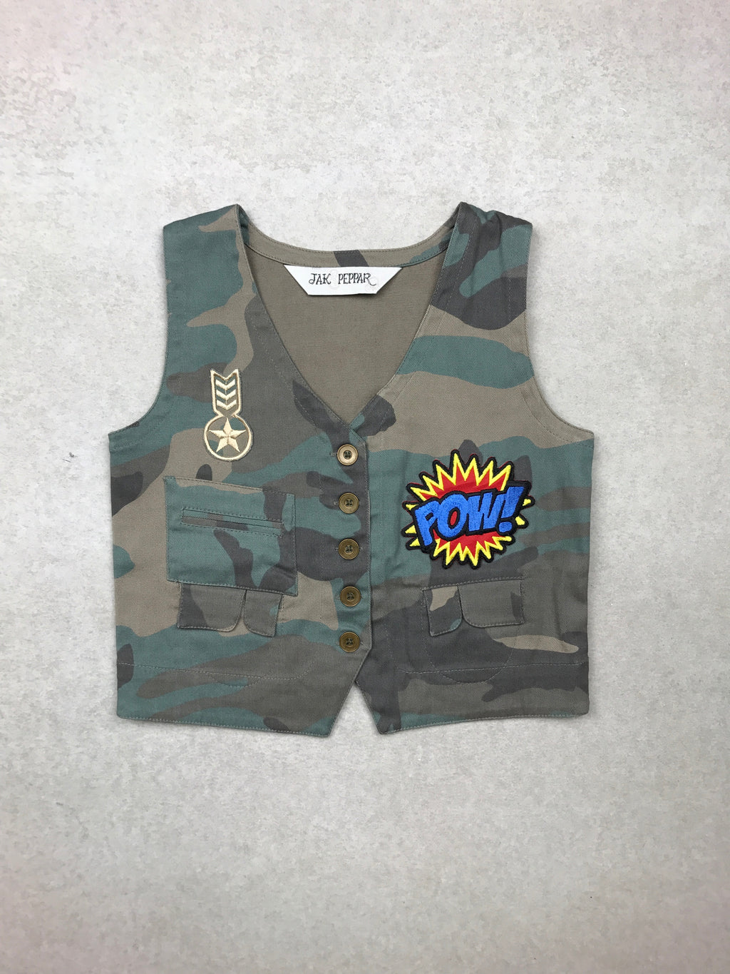 Junk Town Vest in Camouflage