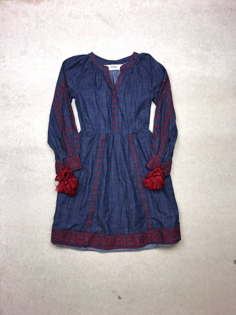Jagger Dress in Chambray