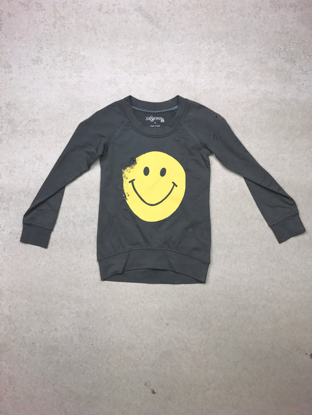 Sunshine Days Pullover in Grey