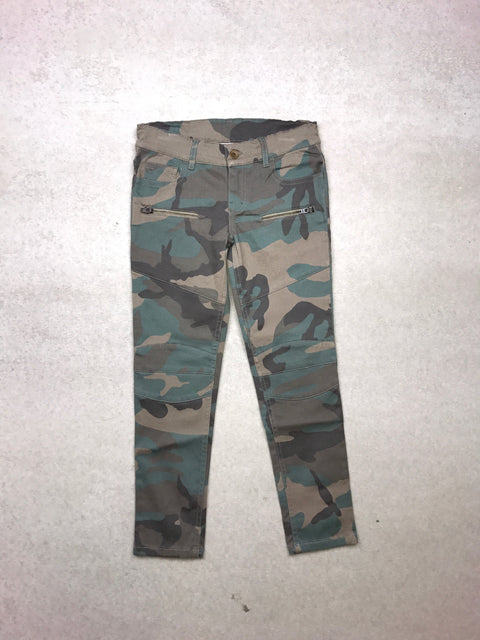 Peppar Moto Skinnies in Camo