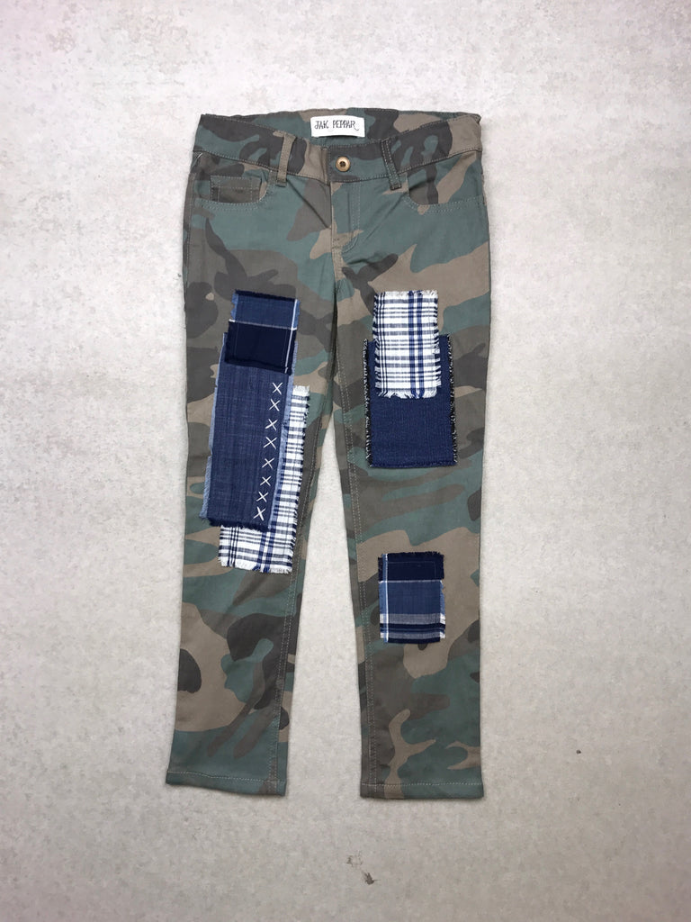 Peppar Patch Skinnies in Camo
