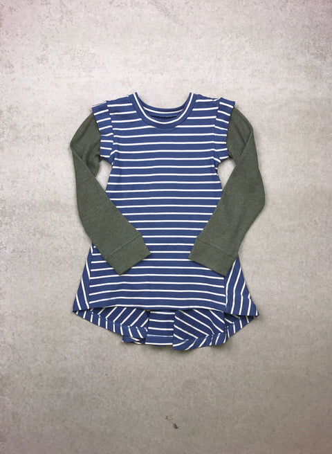 Del Sol Tunic in Sky Blue