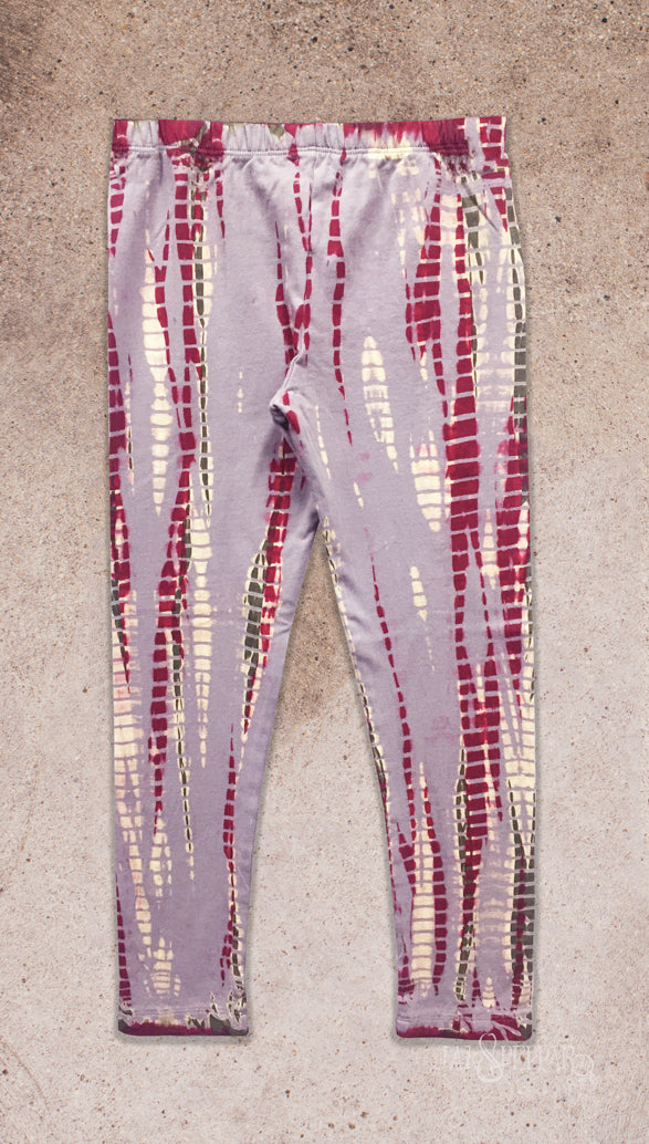 Dazed and Confused Leggings in Burgundy Dazed