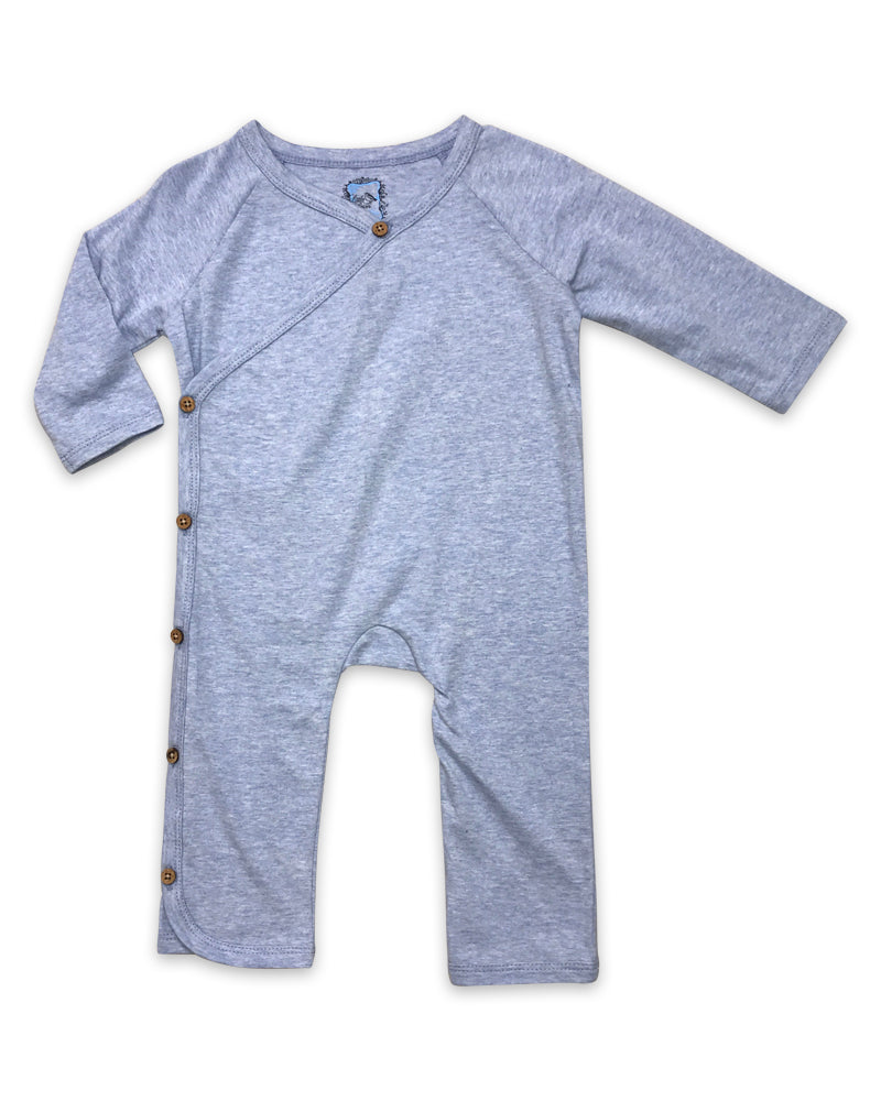 Ryan Playsuit in Heathered Blue