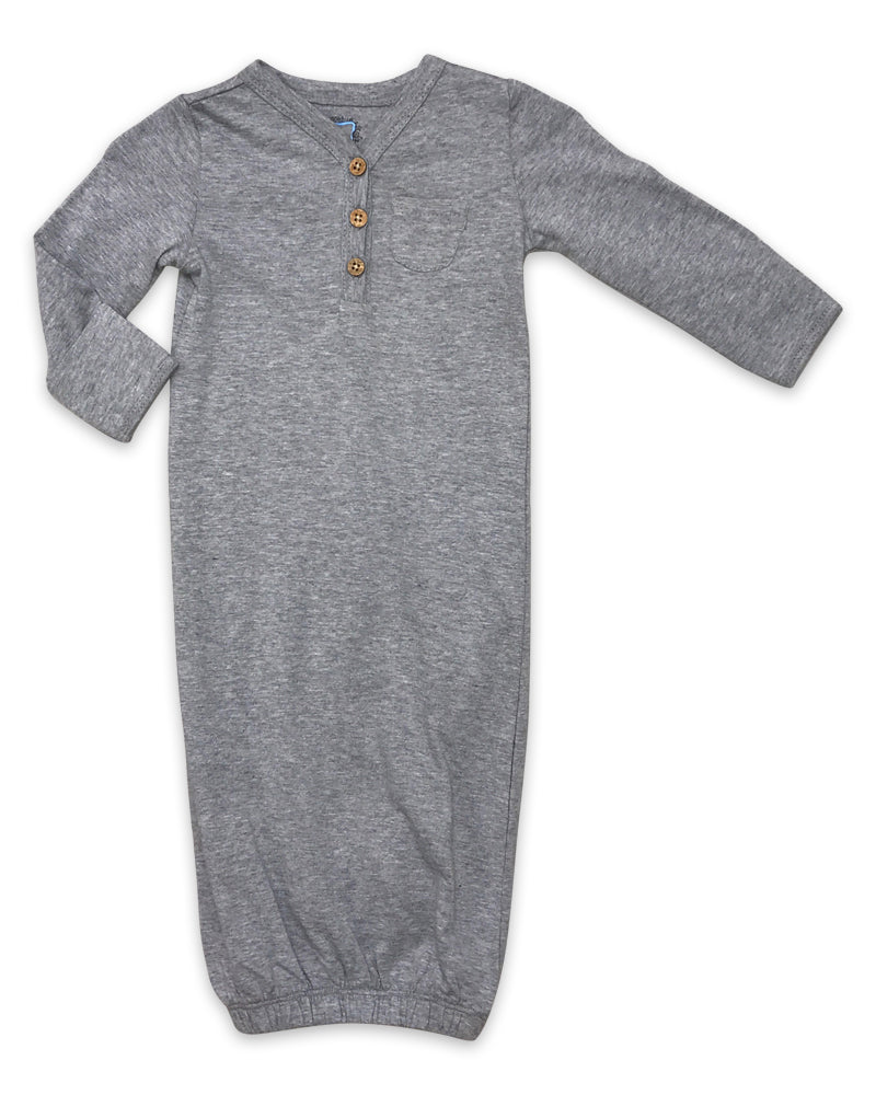 Quinny Gown in Heathered Grey