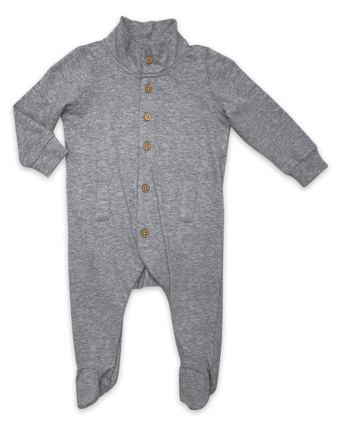 Willow Playsuit in Heathered Grey