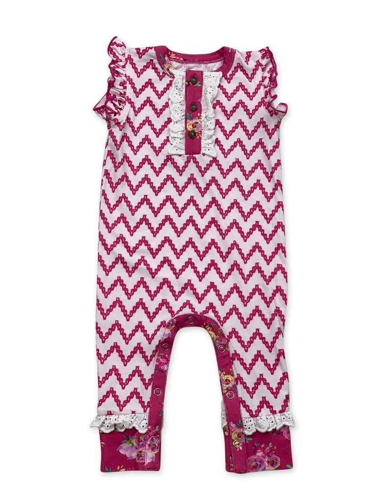 Lala Romper in Day Dream