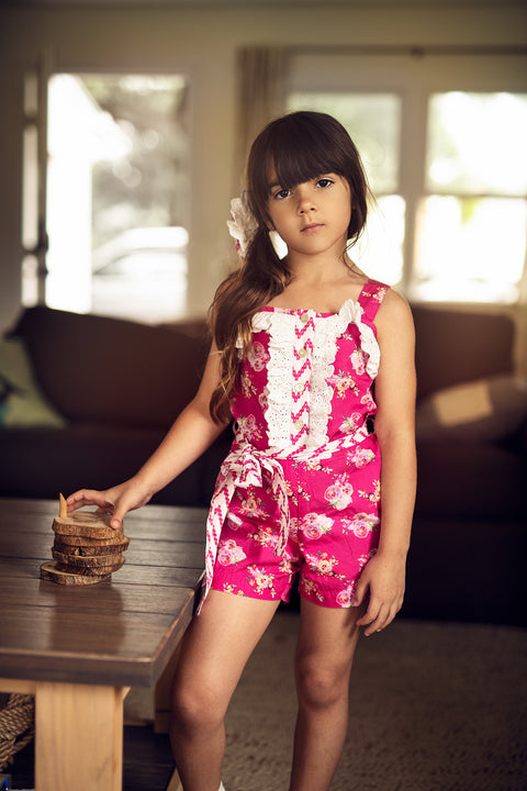 Lucinda Romper in Day Dream
