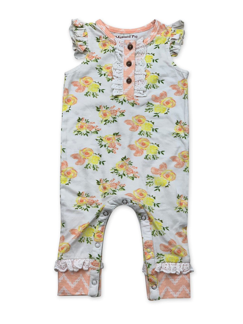 Lala Romper in Honey Blossom