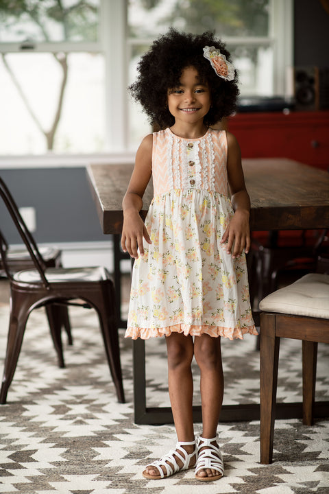 Dylan Dress in Honey Blossom