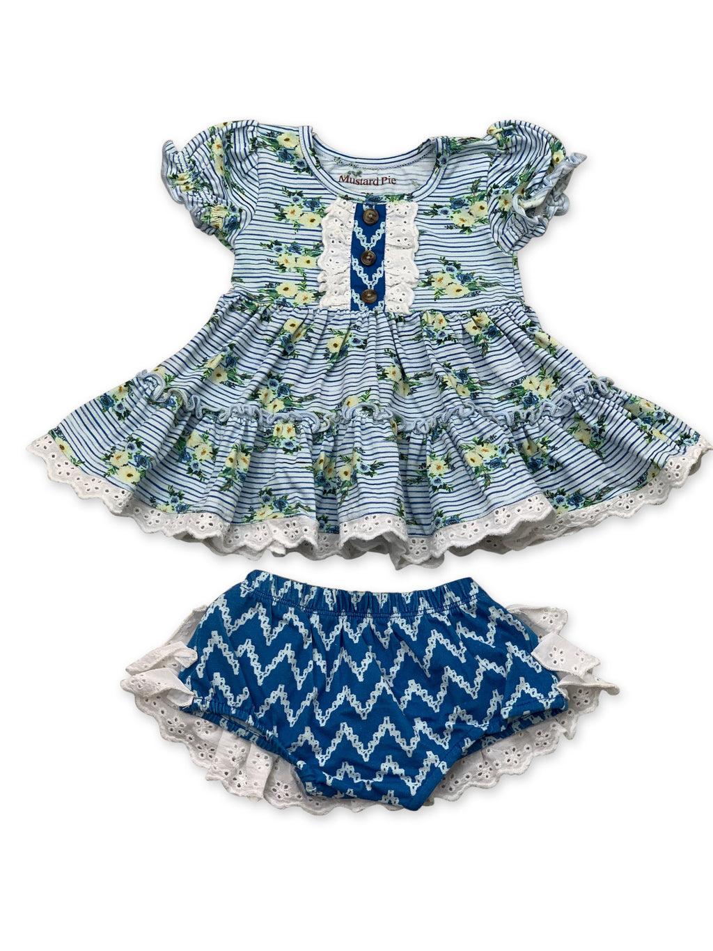 Lucy Dress Set in Nautical Summer