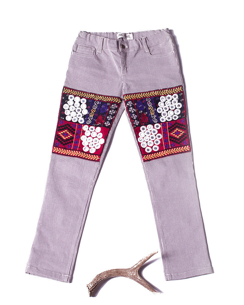 Disco Gypsy Pant in Aubergine