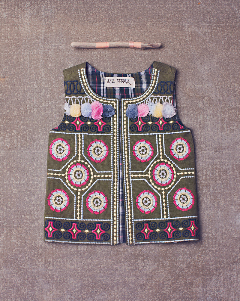 Ringo Vest in Multi