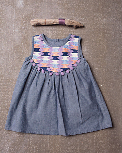 Ryder Dress in Chambray