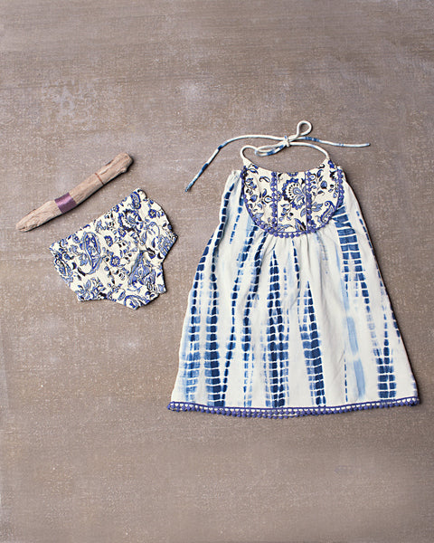 Gypsy Dress Set in Dazed Navy