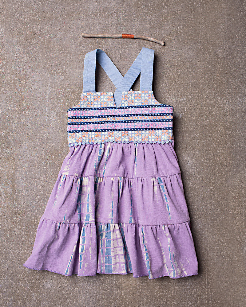 Althea Dress in Dazed Lavender
