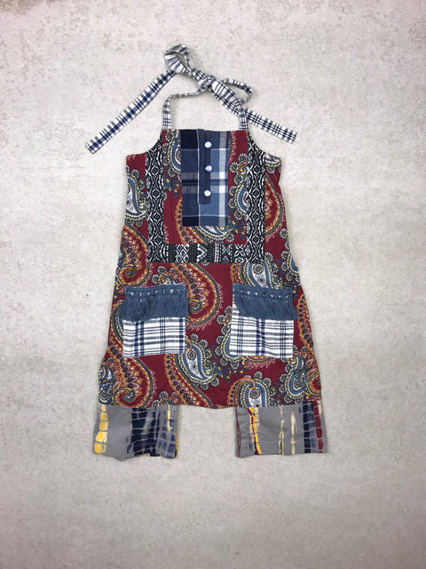 Shiloh Romper in Burgundy