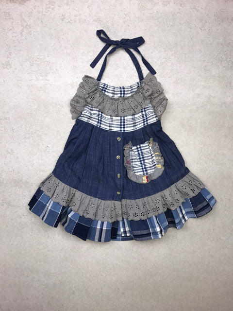 Penelope Dress in Chambray
