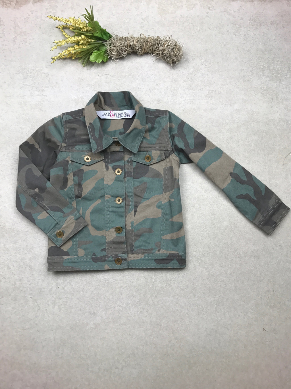 Hinkley Jacket in Camo